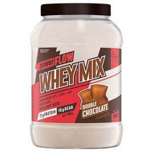 powerFLOW WHEY MIX podwójna czekolada