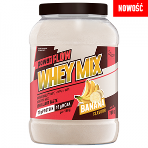 powerFLOW WHEY MIX banan
