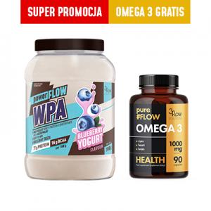 3FLOW MIX-  WPA Jagoda + Omega 3 GRATIS