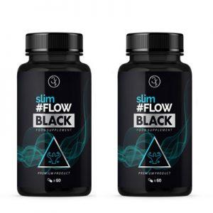 slimFLOW BLACK – 2pak
