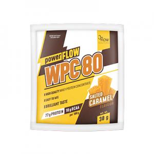 powerFLOW WPC80 słony karmel 1 PORCJA