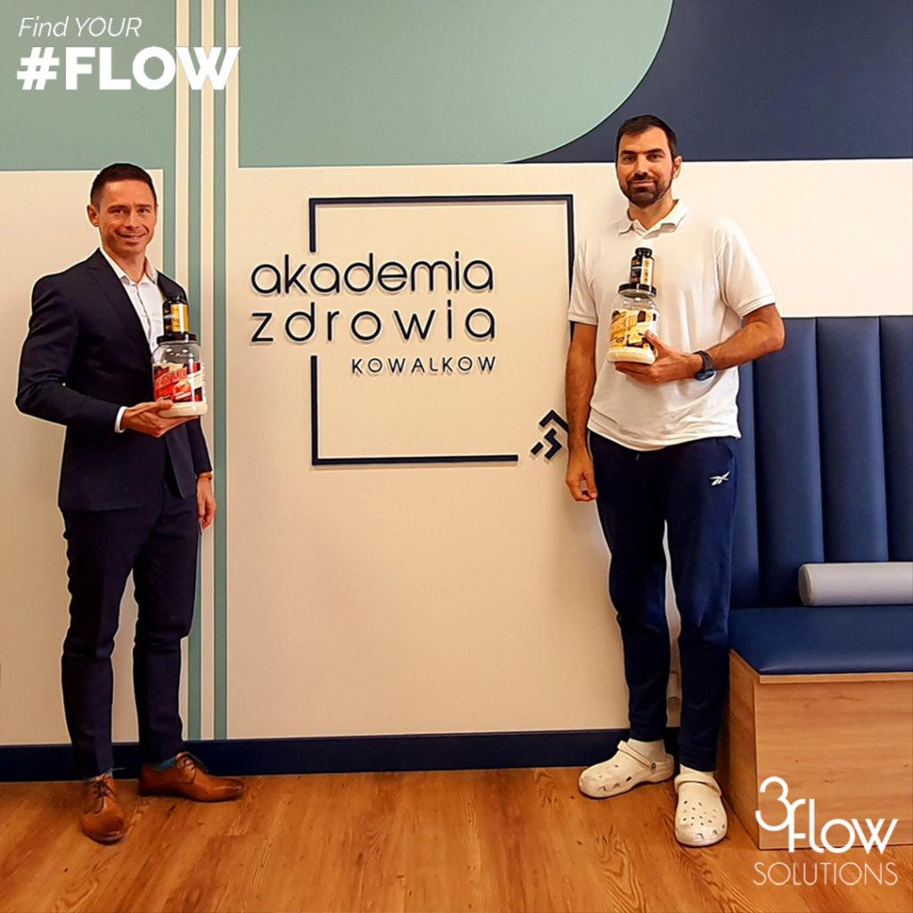 Łukasz Kowalkow Akademia Zdrowia 3FlowSolutions